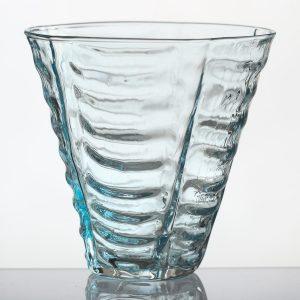 STRUCTURE drikkeglas – lyseblå