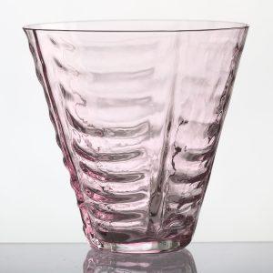STRUCTURE drikkeglas – pink
