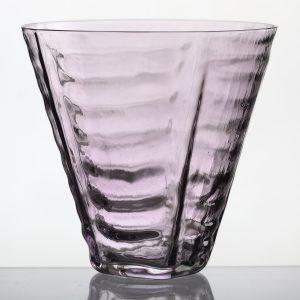 STRUCTURE drikkeglas – violet